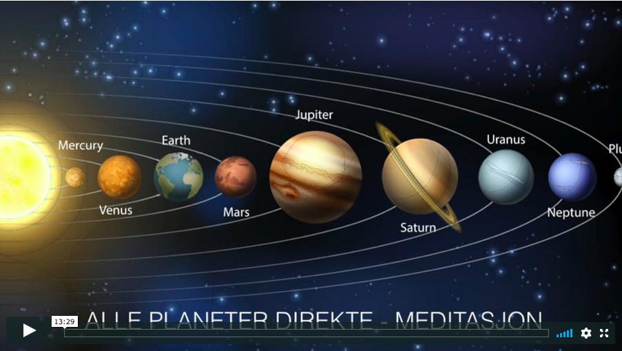 Alle planeter direkte – 2018