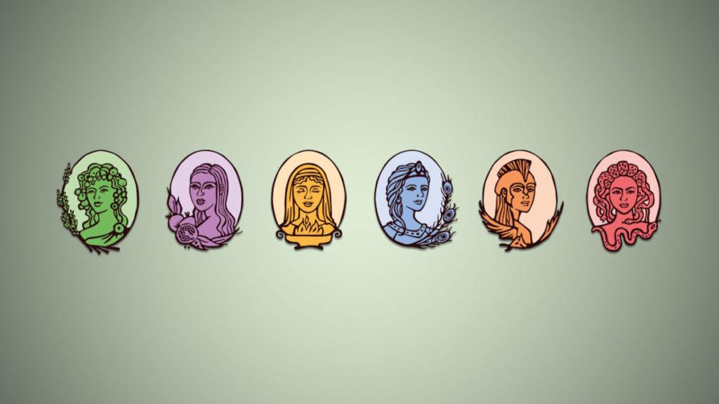 Intensjoner for de ulike gudinnene